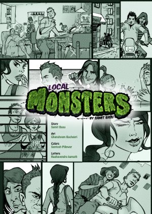 Local Monsters - Read on ipad, iphone, smart phone and tablets