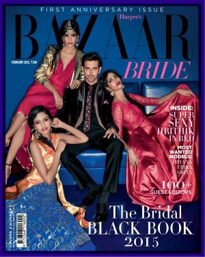 Harper's Bazaar Bride-February 2015