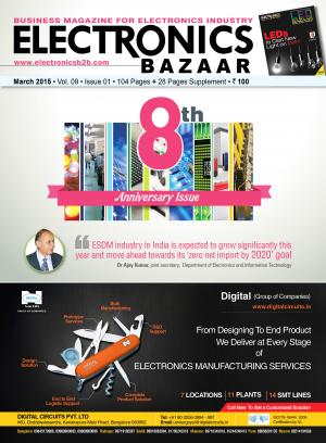 Electronics Bazaar, March 2015 - Read on ipad, iphone, smart phone and tablets.