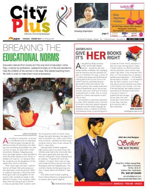 Banjarahills, Vol 6- Issue 7, 14-20 February  2015 - Read on ipad, iphone, smart phone and tablets.