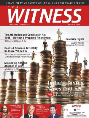 Lex Witness February 2015