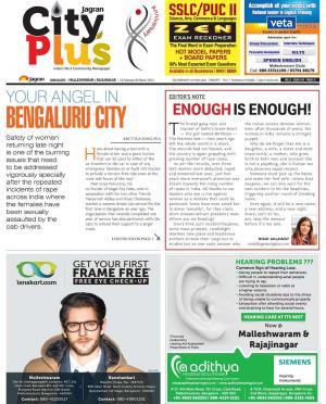 Bangalore: Malleshwaram/Rajajinagar