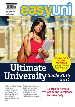 easyuni Ultimate University Guide 2015  - Read on ipad, iphone, smart phone and tablets