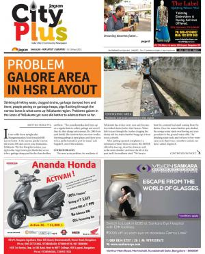 Bangalore-HSR Layout/Sarjapur - Read on ipad, iphone, smart phone and tablets.