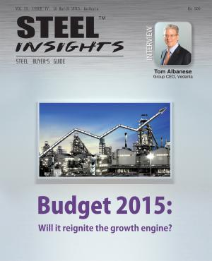 Steel Insights March 2015 - Read on ipad, iphone, smart phone and tablets.