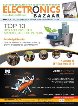 Electronics Bazaar, April 2015 - Read on ipad, iphone, smart phone and tablets.
