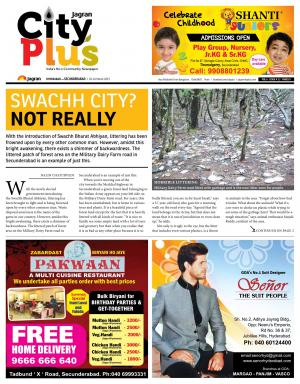Secunderabad Vol 6 - Issue 12,  20-26 March 2015