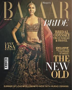 Harper's Bazaar Bride-April 2015