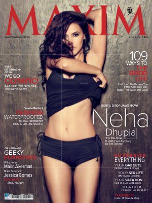 Maxim India, July 2012 - Read on ipad, iphone, smart phone and tablets.