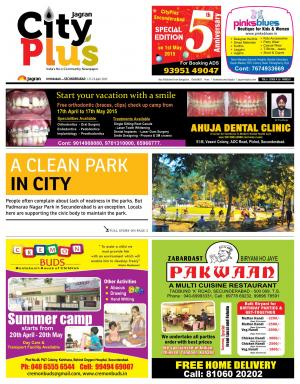 Secunderabad Vol 5 Issue 14, 17-23 April 2015 - Read on ipad, iphone, smart phone and tablets.