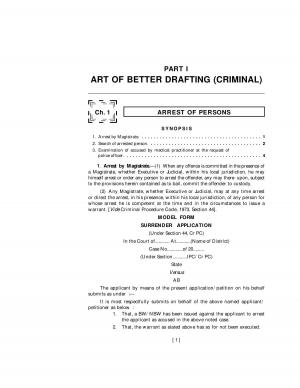 Art of Better Drafting (Criminal) - Read on ipad, iphone, smart phone and tablets.