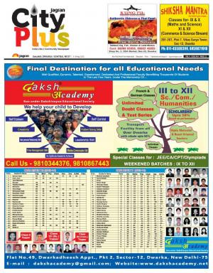 Delhi-Dwarka_Vol-9_Issue-34_Date_03 March 2015 to 09 May 2015