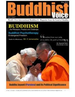 Buddhist Voice May 2015 - Read on ipad, iphone, smart phone and tablets.