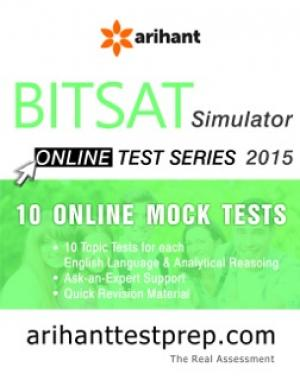 BITSAT Test Series 2015 - Read on ipad, iphone, smart phone and tablets