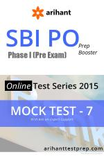 SBI PO(Pre) Mock Test 7