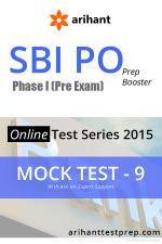 SBI PO(Pre) Mock Test 9