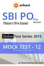 SBI PO(Pre) Mock Test 12