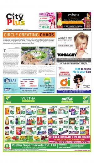 Kukatpally Vol 6, Issue 21, 6-12 June  20153 - Read on ipad, iphone, smart phone and tablets.