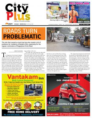 Banjarahills Vol 6, Issue 24,13-19  June 2015 - Read on ipad, iphone, smart phone and tablets.