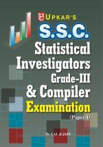 SSC Statistical Investigators Grade III & Complier Exam. (Paper-I)
