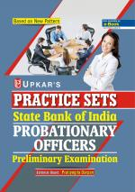 Practice Sets State Bank probationary officers Preliminary Examination