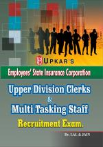 ESIC Upper Division Clerks & Multitasking Staff Recruitment Exam.