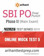 SBI PO (Mains) Online Mock Test 5