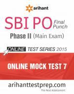 SBI PO (Mains) Online Mock Test 7