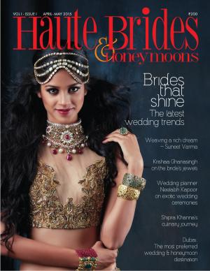 Haute Brides  & Honeymoons - Read on ipad, iphone, smart phone and tablets.