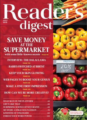 Reader's Digest-July 2015 - Read on ipad, iphone, smart phone and tablets.