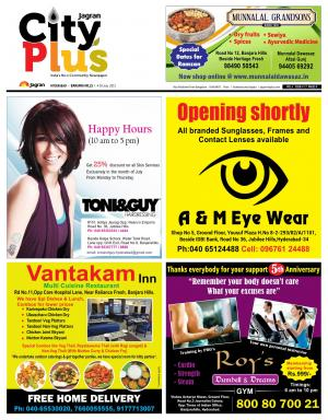 Banjarahills Vol 6, Issue 27, 4-10 July  2015 - Read on ipad, iphone, smart phone and tablets.