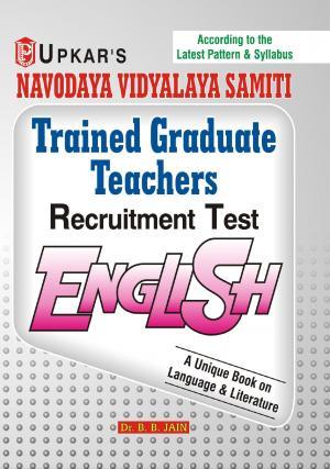 Navodaya Vidyalaya Samiti Trained Graduate Teachers Recruitment Test English