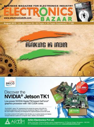 Electronics Bazaar, August 2015 - Read on ipad, iphone, smart phone and tablets.