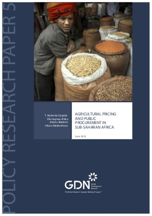 Agricultural pricing and public procurement in Sub-Saharan Africa - Read on ipad, iphone, smart phone and tablets.