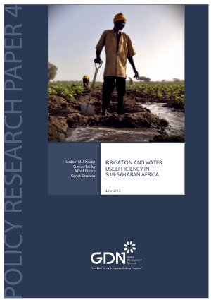 Irrigation and water use efficiency in Sub-Saharan Africa - Read on ipad, iphone, smart phone and tablets