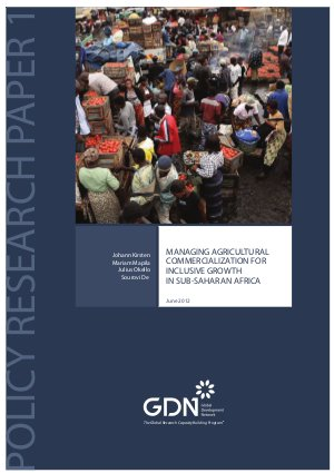 Managing agricultural commercialization for inclusive growth in Sub-Saharan Africa - Read on ipad, iphone, smart phone and tablets.