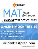 MAT Online Mock Test 10