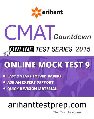 CMAT Online Mock Test 9 - Read on ipad, iphone, smart phone and tablets.