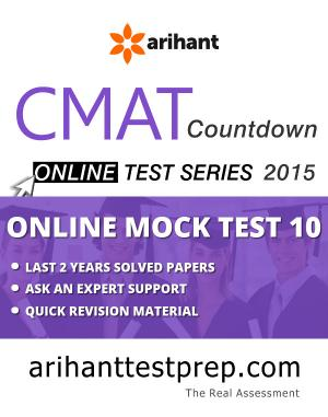 CMAT Online Mock Test 10 - Read on ipad, iphone, smart phone and tablets.