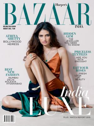 Harper's Bazaar-August 2015 - Read on ipad, iphone, smart phone and tablets.