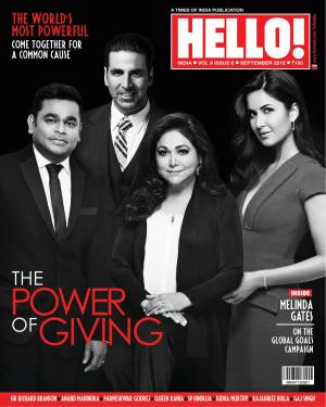 HELLO! INDIA SEP 2015 - Read on ipad, iphone, smart phone and tablets.