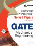 Chapterwise Previous Years Solved Papers (2015-2000) GATE  Mechanical Engineering