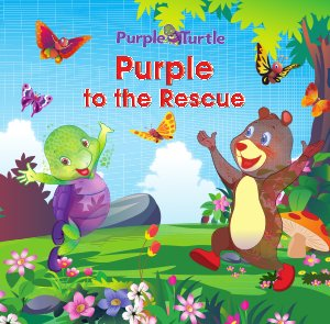 Purple to the Rescue  - Read on ipad, iphone, smart phone and tablets.