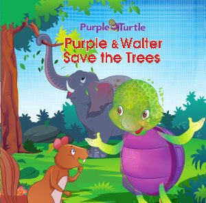 Purple save the trees  - Read on ipad, iphone, smart phone and tablets.