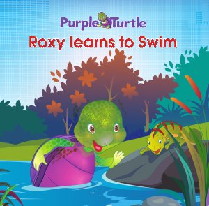 Purple Turtle - Roxy Learns to Swim  - Read on ipad, iphone, smart phone and tablets.
