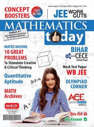 Mathematics Today- October 2015