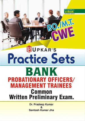 Practice Sets BANK PROBATIONARY OFFICERS/MANAGEMENT TRAINEES Common Written Preliminary Exam. - Read on ipad, iphone, smart phone and tablets.