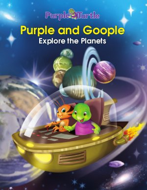 Purple and Goople Explore the Planets  - Read on ipad, iphone, smart phone and tablets.