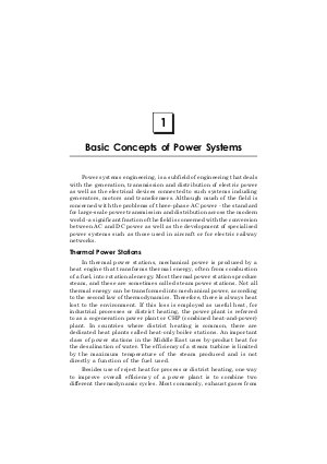 Power System: Operations and Control