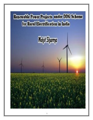 Renewable Energy Power Projects for Rural Electrification